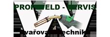 Profiweld – servis s.r.o. Logo